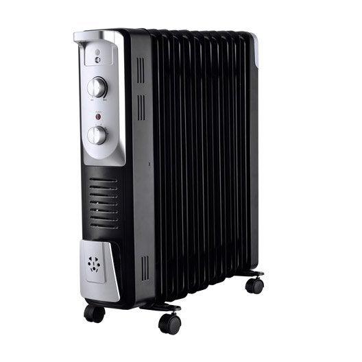 radiateur bain d 39 huile lectrique equation olea 2500 turbo 400 w leroy merlin. Black Bedroom Furniture Sets. Home Design Ideas