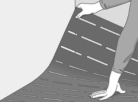 Comment isoler un plancher en surface leroy merlin - Comment appliquer une sous couche ...