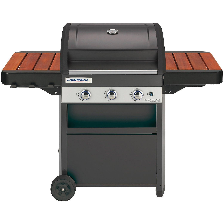Préparer Un Barbecue Pour 20 Personnes barbecue au gaz campingaz 3 series classic wld, noir