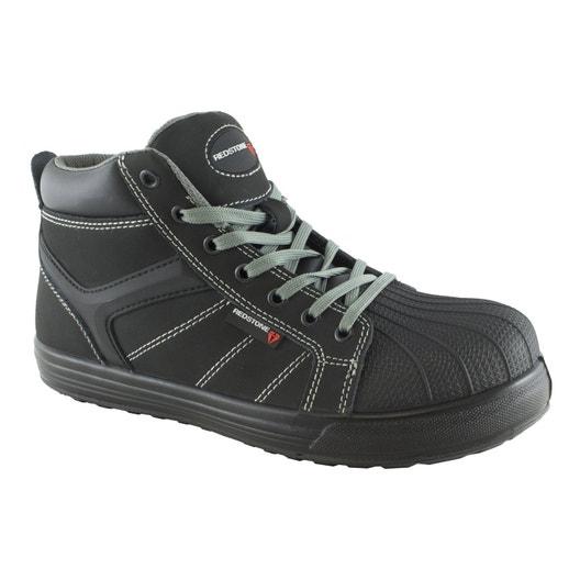 chaussures de s curit hautes redstone street coloris gris t46 leroy merlin. Black Bedroom Furniture Sets. Home Design Ideas