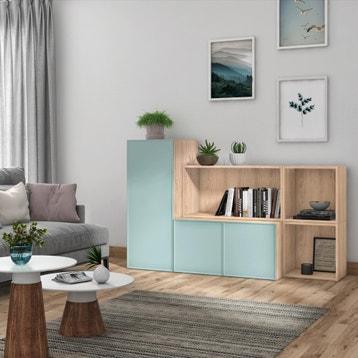 Dressing Etagere Bibliotheque Armoire Bureau Meuble Tv Rangement Spaceo Home Au Meilleur Prix Leroy Merlin