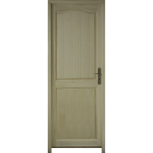 Bloc porte paulownia peindre ou vernir prague for Porte 73 ou 83