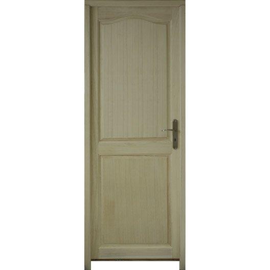 Porte classique bloc porte porte bois porte ch ne - Bloc porte coulissante leroy merlin ...