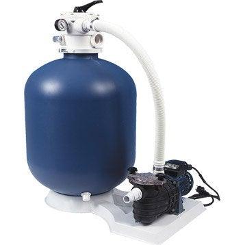 Kit de filtration à sable AQUALUX 103460 8 m³/h