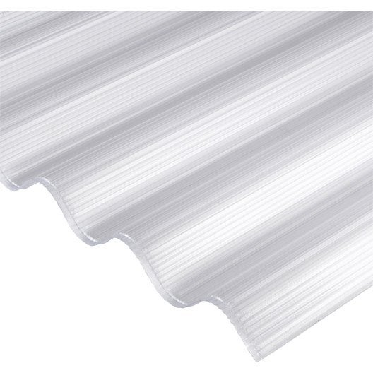 plaque polycarbonate alv olaire 6mm clair 2 5 x sunclear leroy merlin. Black Bedroom Furniture Sets. Home Design Ideas