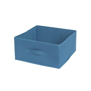 Panier malle et boite de rangement accessoires de - Panier rangement leroy merlin ...