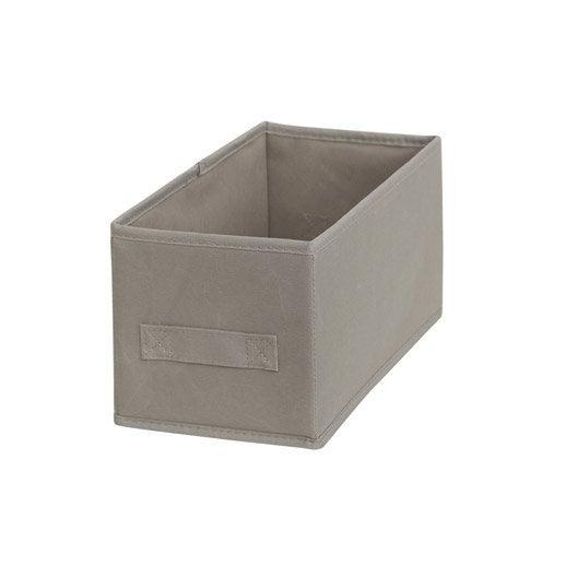 Panier et boite de rangement accessoires de rangement - Leroy merlin boite rangement ...