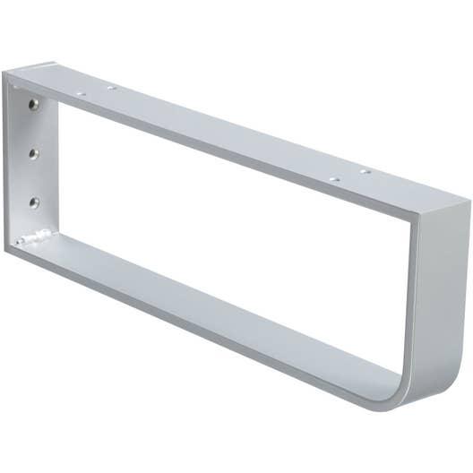 Console porte serviettes leroy merlin for Porte serviette coulissant salle de bain