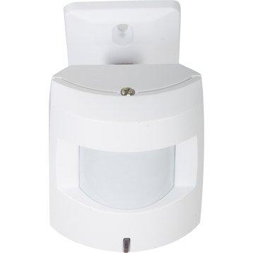 Détecteur de mouvement compatible animaux  pour alarme maison EVOLOGY blanc