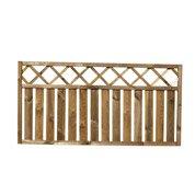 Barrière bois Pinto naturel, H.90 x l.180 cm
