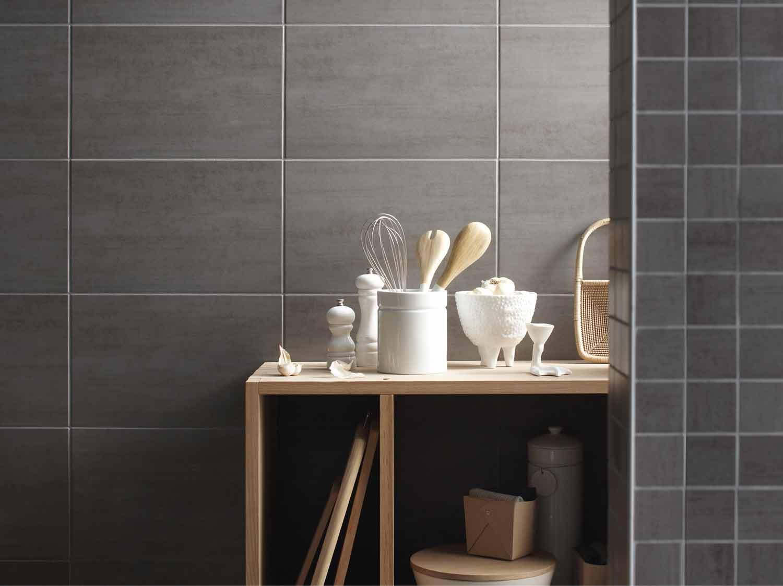 Panneaux muraux cuisine la cuisine de nolwenn carrelage - Panneaux pvc salle de bain ...
