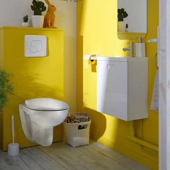 comment choisir son wc suspendu leroy merlin. Black Bedroom Furniture Sets. Home Design Ideas