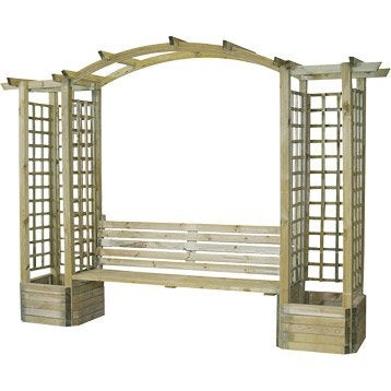 pergola bois m tal au meilleur prix leroy merlin. Black Bedroom Furniture Sets. Home Design Ideas
