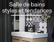 2015 layer salle de bains styles et tendances 3 - Parquet pour salle de bain leroy merlin ...