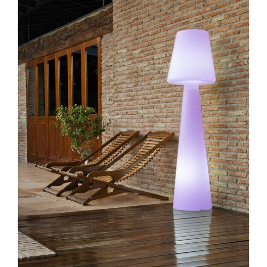 Lampadaire 165 cm led int gr e 2 5 w 165 lm couleurs for Led sottopensile leroy merlin