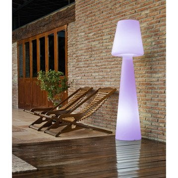 Lampadaire 165 cm LED intégrée 2.5 W = 165 Lm, couleurs changeantes NEWGARDEN