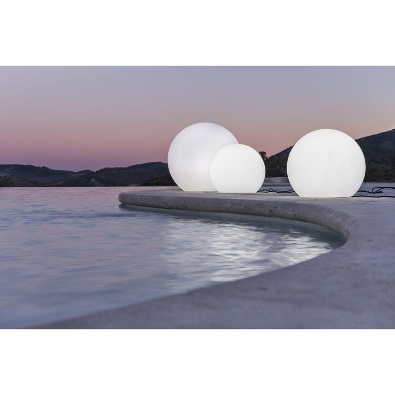 Boule décorative extérieure Buly, diam 60cm, E27 25 W = 880 Lm ...