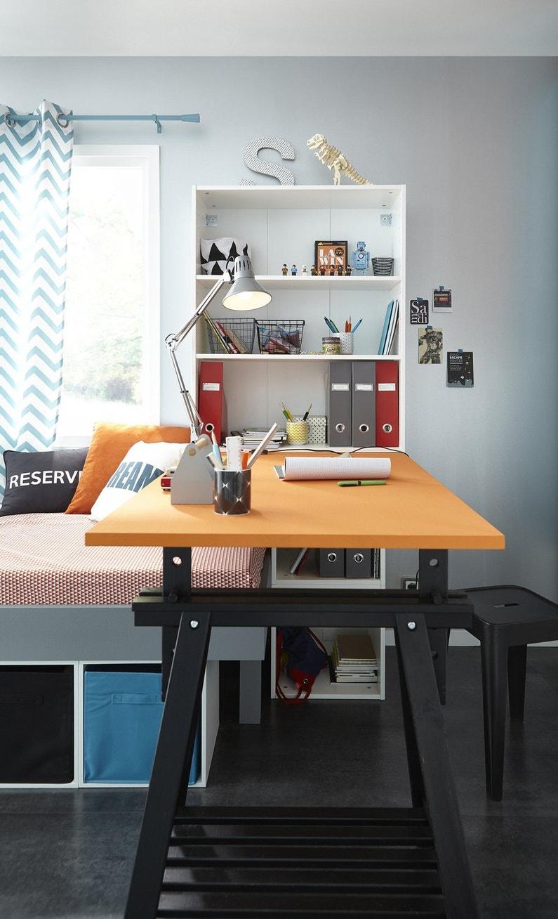 des caissons spaceo pour vos accessoires de bureau leroy merlin. Black Bedroom Furniture Sets. Home Design Ideas