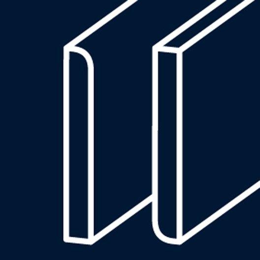 plinthe m dium mdf r versible hydrofuge 16 x 150 mm l m leroy merlin. Black Bedroom Furniture Sets. Home Design Ideas