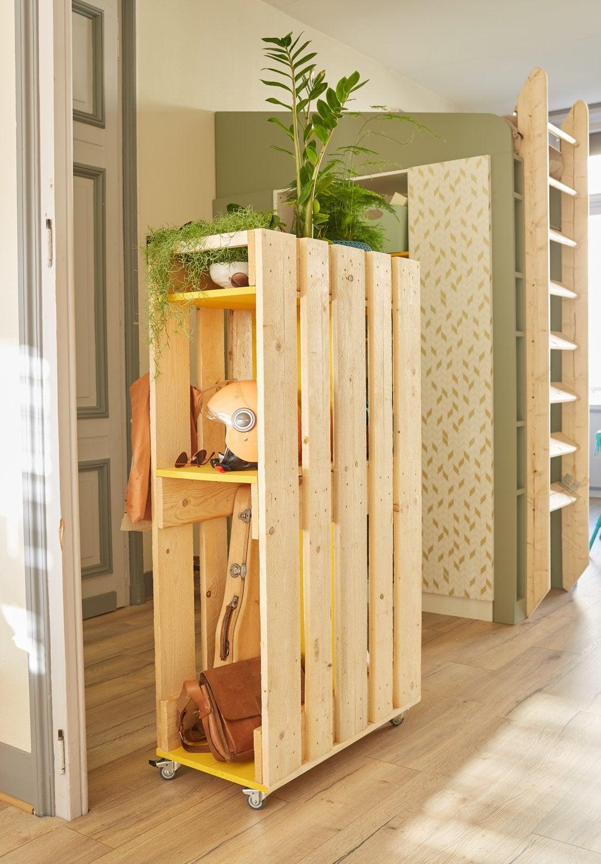 Meuble En Palette Salle De Bain meuble palette : styles et tendances | leroy merlin