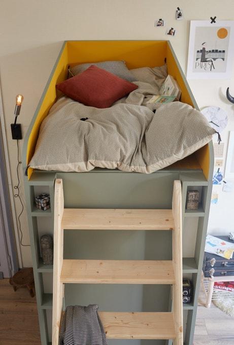 Un espace créer pour cohabiter en toute intimité