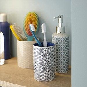 Accessoires et miroirs de salle de bains leroy merlin for Accessoire pour salle de bain