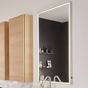 Accessoires et miroirs de salle de bains leroy merlin - Accessoires pour salle de bain ...