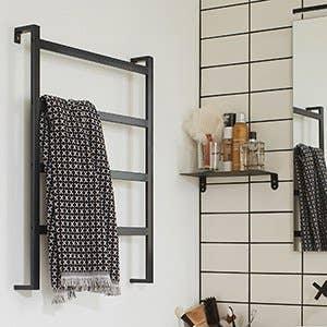 Accessoires et miroirs de salle de bains leroy merlin - Porte serviette salle de bain leroy merlin ...