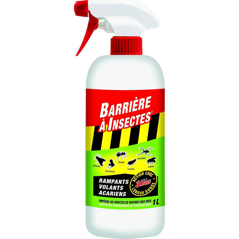 Insecte Salle De Bain Volant ~ a rosol antirampants et volants barriere a insectes 1l leroy merlin