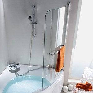Baignoire salle de bains leroy merlin - Pare baignoire miroir ...