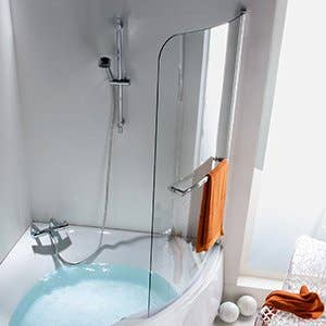 Baignoire salle de bains leroy merlin for Peinture pour baignoire acrylique