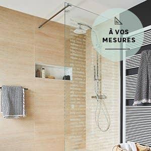 Douche salle de bains leroy merlin for Salle de bain 6m2 douche a l italienne