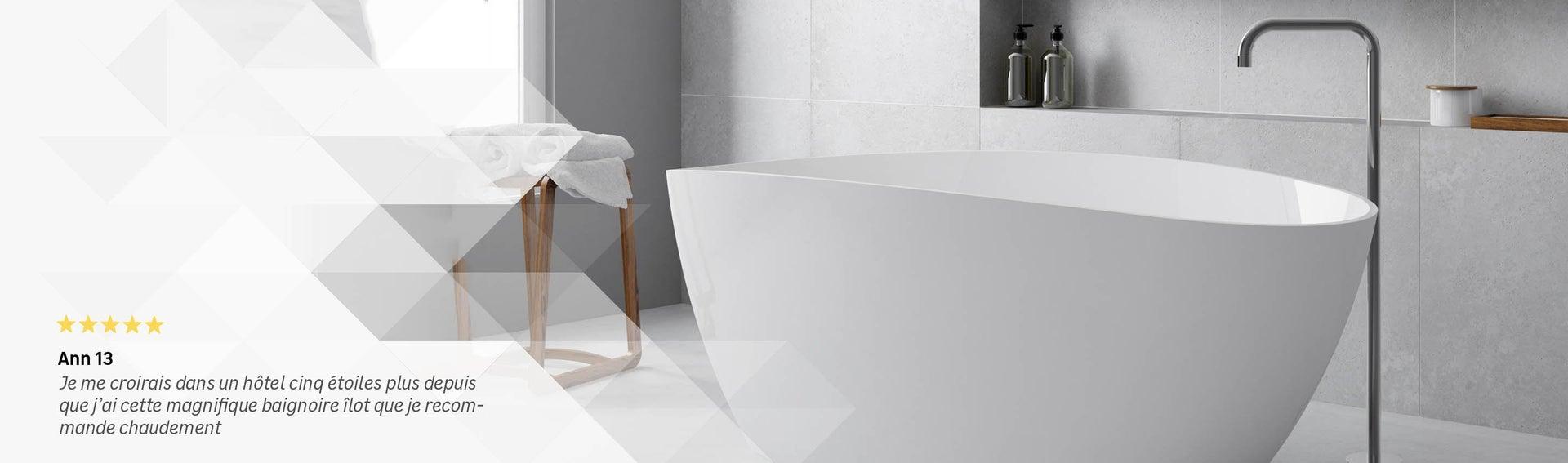baignoire salle de bain leroy merlin. Black Bedroom Furniture Sets. Home Design Ideas