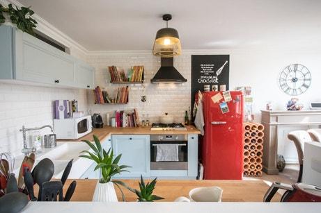 La cuisine colorée de Marine à Poitiers