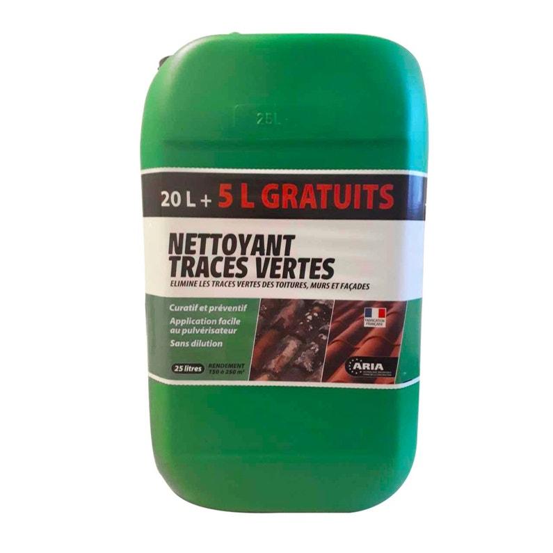 Nettoyant Traces Vertes Aria 25 L
