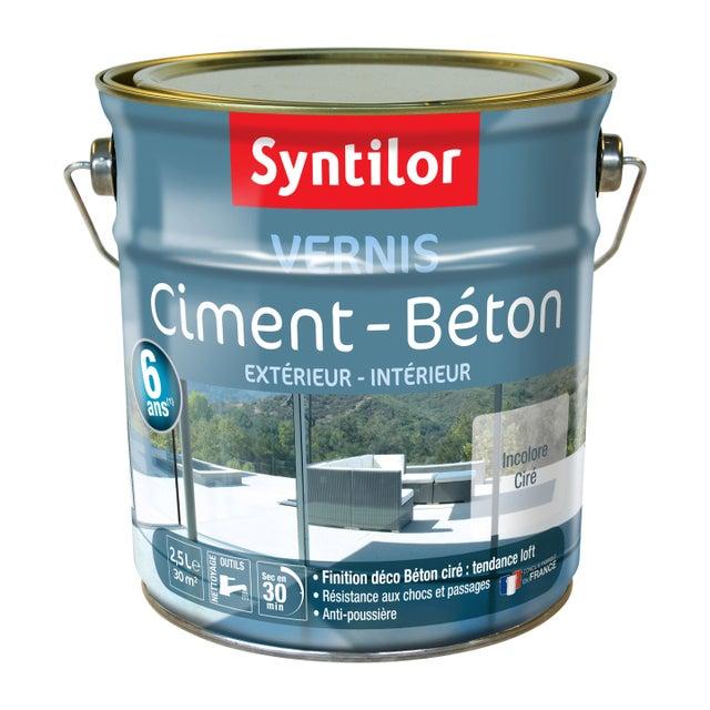 Vernis Ciment Extérieur Intérieur Ciment Syntilor Incolore 2 5 L