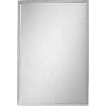 Miroir Lario INSPIRE, argent, l.40 x H.60 cm