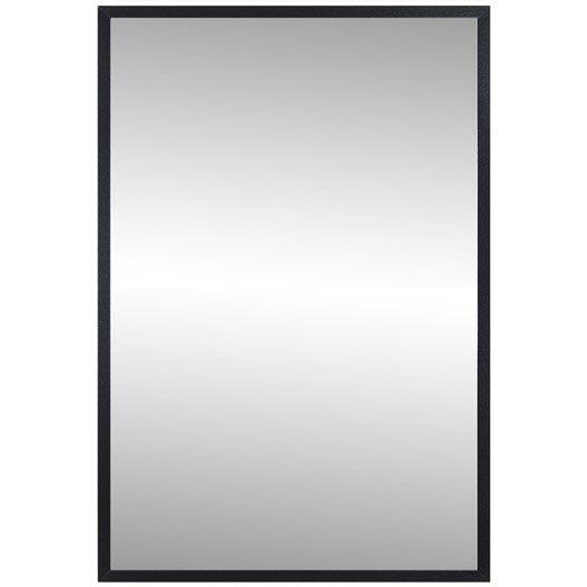Miroir lario inspire noir noir n 0 40x160 cm leroy merlin for Miroir 40x160