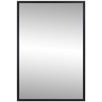 Miroir Lario INSPIRE, noir, l.40 x H.60 cm