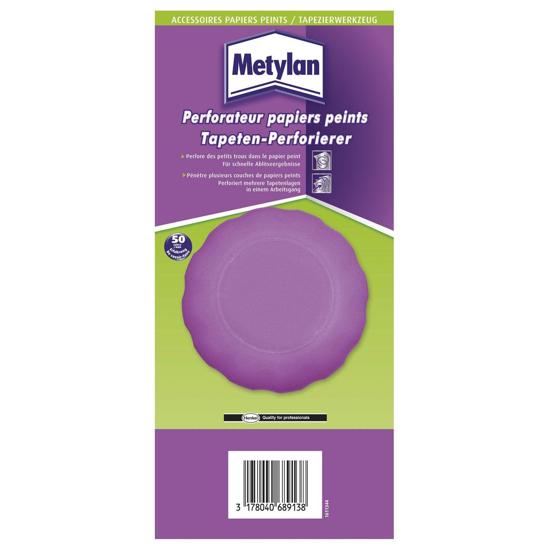 Perforateur papier peint METYLAN | Leroy Merlin