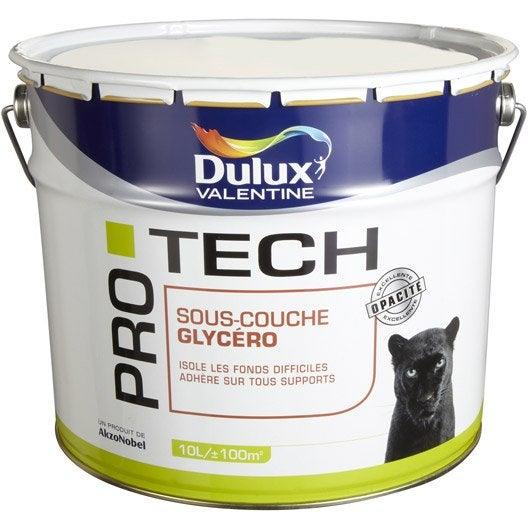 sous couche universelle protech dulux valentine 10 l. Black Bedroom Furniture Sets. Home Design Ideas