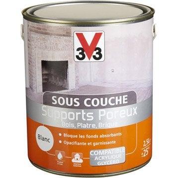 Sous-couche supports poreux V33, 2.5 L