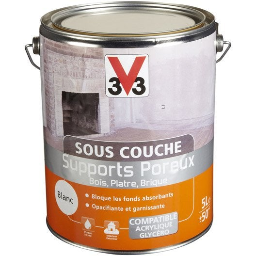 sous couche supports poreux v33 5 l leroy merlin. Black Bedroom Furniture Sets. Home Design Ideas