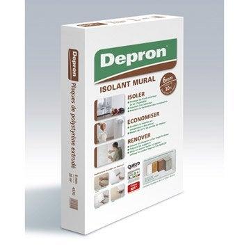 Carton de 10 plaques mur DEPRON l.2500 x L.800 mm, Ep.6 mm