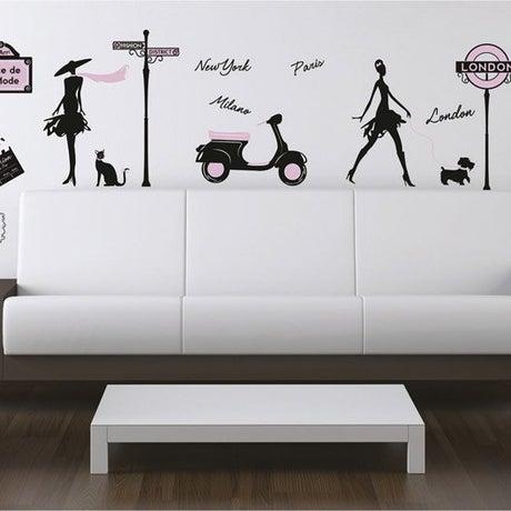 Sticker World fashion 50 cm x 70 cm