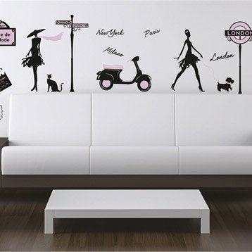 Sticker World fashion, 50 x 70 cm