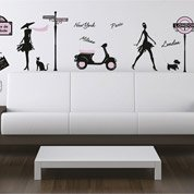 Sticker World fashion 50 cm x 70 cm