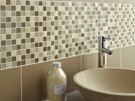 Mosaique leroy merlin salle de bain for Salle bain galets mosaique