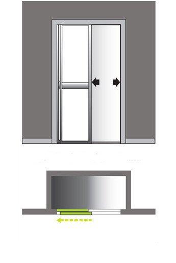 comment choisir sa porte de placard leroy merlin. Black Bedroom Furniture Sets. Home Design Ideas