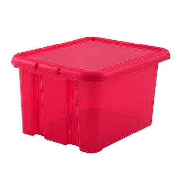 Boite de rangement boite plastique pin carton leroy merlin - Boite a the originale ...